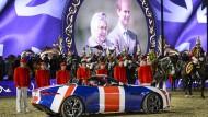 Im Dienste Ihrer Majestät: Präsentation von Jaguar anlässlich des jüngsten Geburtstags der Queen.
