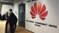 Für den sauberen Anstrich: Hinter dem Cybersicherheitszentrum von Huawei in Brüssel steckt Kalkül.