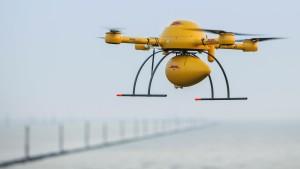 Deutsche Post schickt Drohne zur Insel Juist