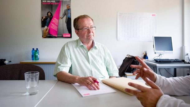 Norbert Gürtler  - der ehrenamtliche Bewährungshelfer kümmert sich in Böblingen um Insassen des Gefängnisses