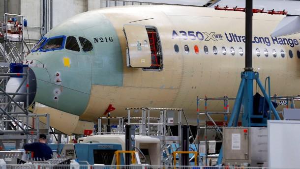 "Airbus vor ""Höllenritt"""