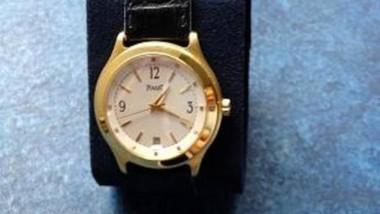 So wird Middelhoffs Armbanduhr auf dem Versteigerungsportal www.justiz-auktion.de angeboten