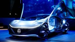 """Ein """"Avatar""""-Mobil von Daimler"""