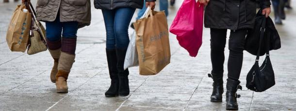 Die Einkaufslust der Verbraucher ist deutlich besser geworden