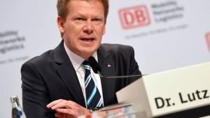 Lutz ist neuer Bahnchef - und bleibt Finanzvorstand