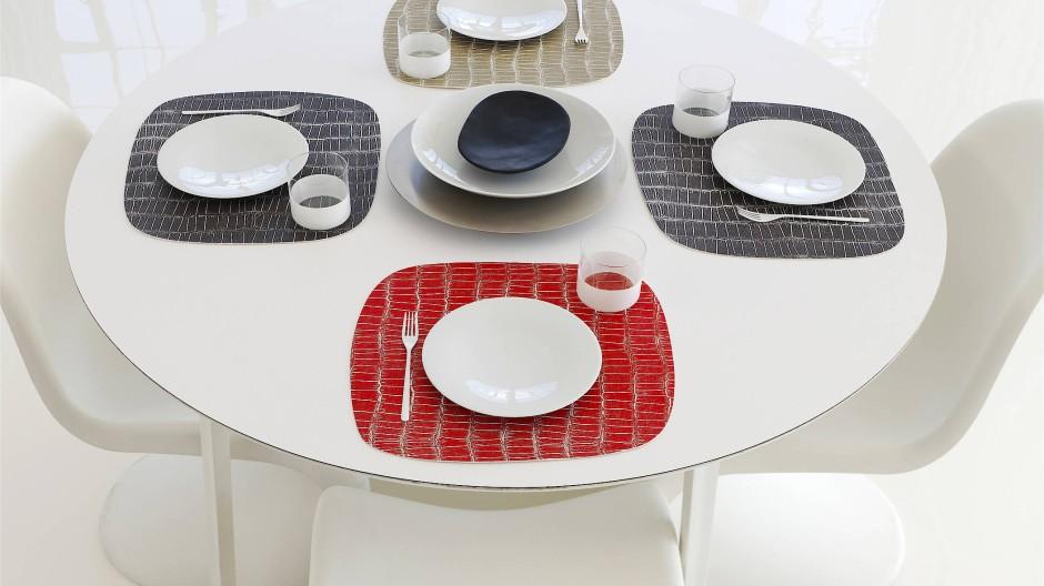 Bunte Tischsets