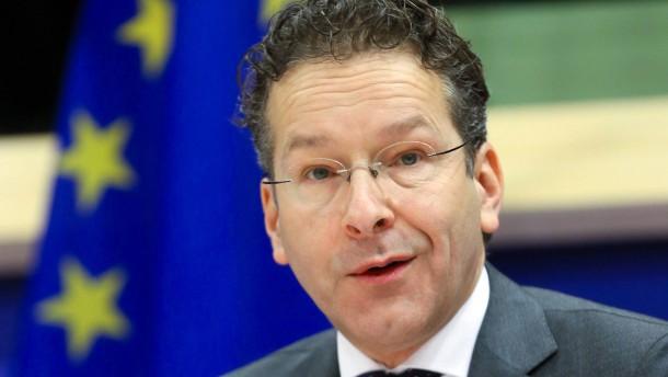 """Dijsselbloem: """"Vertrauen in die Euro-Zone war nie größer"""""""