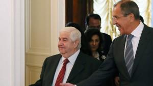 Syrien zu Kontrolle seiner Chemiewaffen bereit?