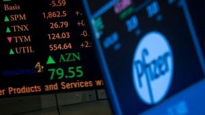 Kursgewinne von Bayer geben Börsen Auftrieb