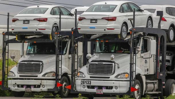 Was bedeutet die Nafta-Einigung für die deutsche Autoindustrie?