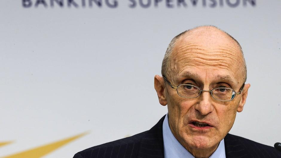Der Chef der EZB-Bankenaufsicht, Andrea Enria.
