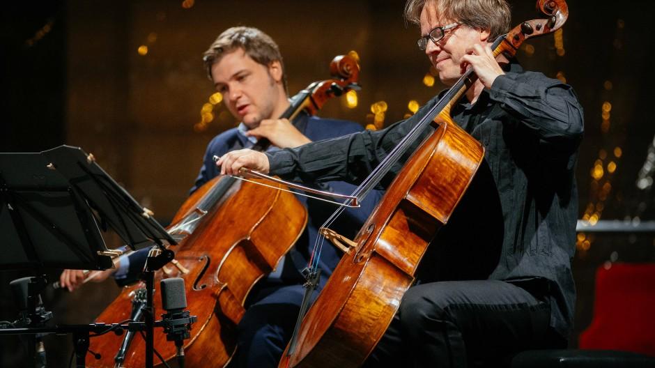 Jan Vogler (rechts) gehört zum Gründertrio von Dreamstage.