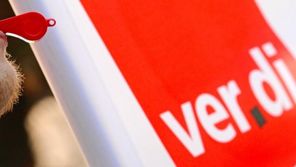 Verdi: Beschäftigte sollen Arbeit niederlegen