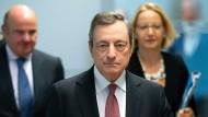 Mario Draghi übergibt nach acht Jahren an der Spitze der EZB demnächst sein Amt.
