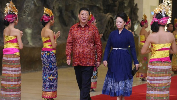 China will Führung im Pazifikraum übernehmen