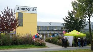 2000 Amazon-Mitarbeiter streiken
