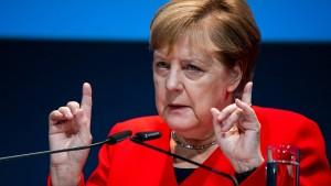 """Merkel: Lage im Maschinenbau ist """"besorgniserregend"""""""