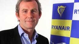 Der Ryanair-Topmanager Michael Hickey tritt zurück