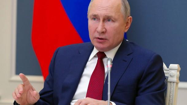 Putin umgarnt den Westen