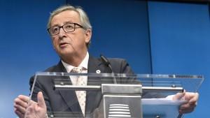 Junckers politische Kommission