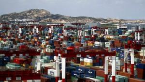 Der Handelsüberschuss wächst und wächst