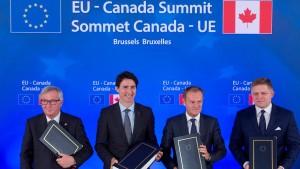 Ceta passiert Handelsausschuss im EU-Parlament