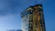 Mächtige Notenbank: Sitz der Europäischen Zentralbank in Frankfurt.