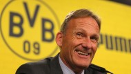 Hat gut lachen: BVB-Geschäftsführer Hans-Joachim Watzke