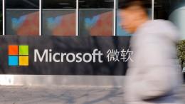 Wie Microsoft mit Chinas Militär kollaboriert