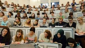 Stresstest für Studienanfänger