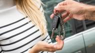 Carsharing wird in Deutschland beliebter.