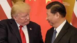 The growing rivalry between the US and China