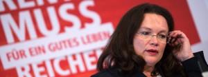 Im November will Andrea Nahles (SPD) ihr Rentenkonzept vorlegen.