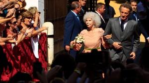 Herzogin von Alba sagt zum dritten Mal Ja