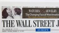 Wall Street Journal Deutschland kein Kerngeschäft