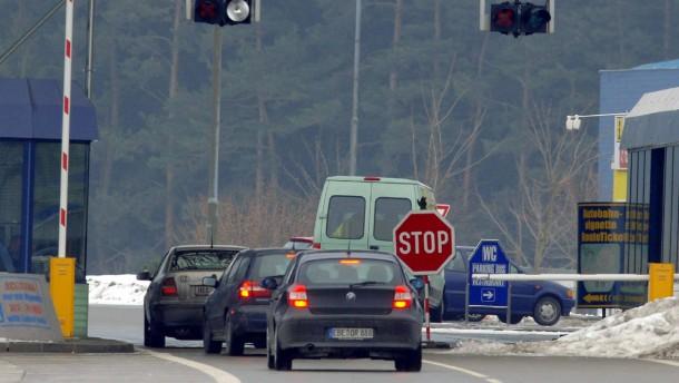 Bayerisch-tschechische Grenze