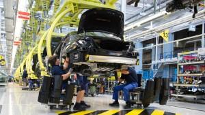 Untersuchungen in Daimler-Werken