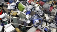Elektroschrott: Viele Elektrogeräte haben in deutschen Haushalten eine kurze Lebensdauer.