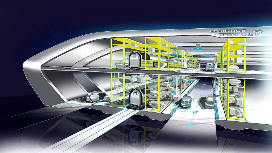 Der Güterbahnhof der Zukunft