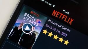 Netflix testet speziellen Schnitt für Handydisplays