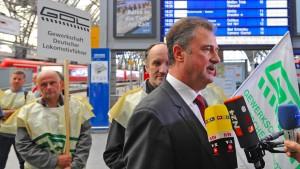 Lokführer kritisieren GDL-Chef Weselsky