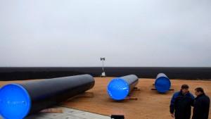 EU fordert von Bulgarien Baustopp an Pipeline