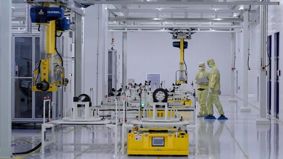 So sieht es in einer Svolt-Fabrik in Changzhou aus.