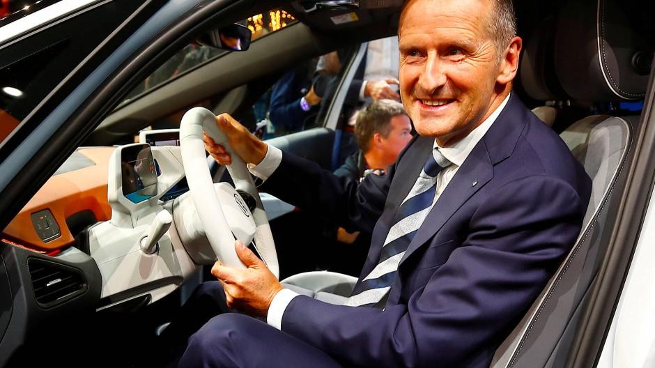 VW-Chef Herbert Diess