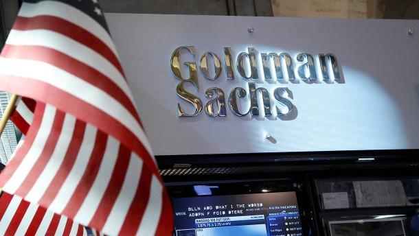 Die Wall Street glaubt wieder an Goldman