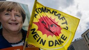 Merkel dementiert Gespräche über Atom-Altlastenfonds