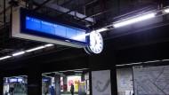 Wartezeit: Die S-Bahnen sind nicht immer pünktlich.