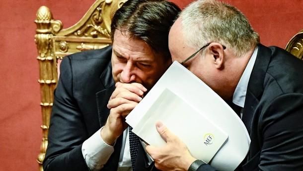 Italien hofft auf Sympathiebonus in Brüssel