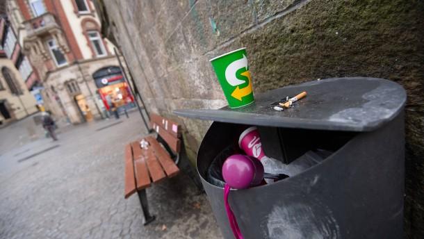 Tübingen beschließt 50 Cent Steuer auf To-Go-Kaffeebecher