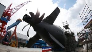 Thyssen-Krupp investiert in den U-Boot-Bau